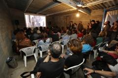 Sala de proxeccións ateigada de xente