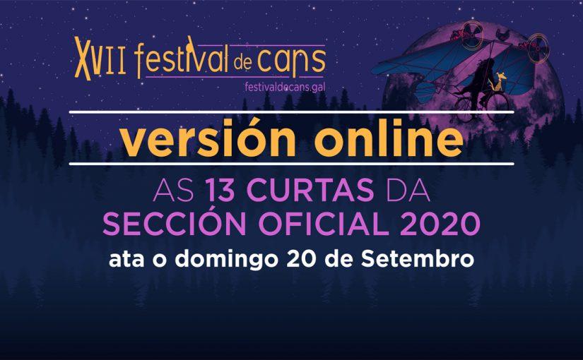VERSIÓN «ON LINE» DAS CURTAS DA SECCIÓN OFICIAL '2020'